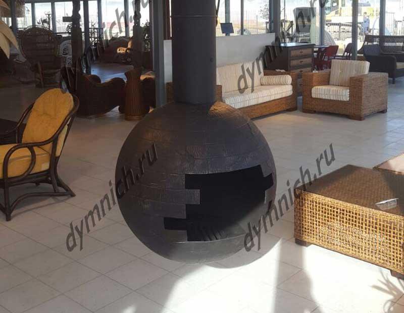 """Современный дровяной камин в стиле """"Лофт"""""""
