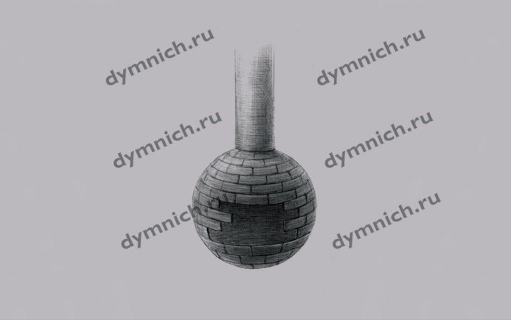 Островной камин с подставкой - функциональным зольником